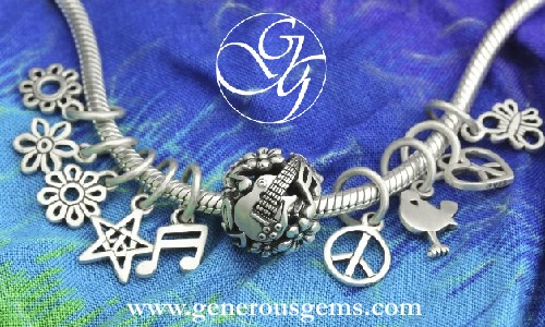 Woodstock Bead Charms