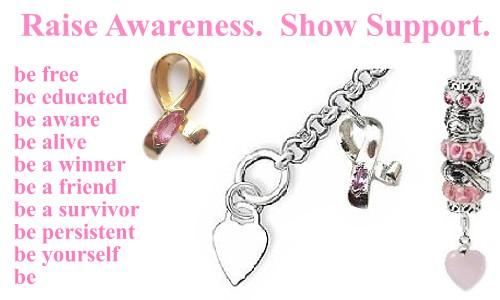 pink ribbon jewelry