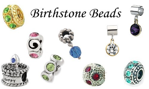 birthstone bead
