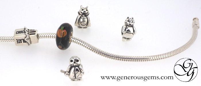 halloween bead charms