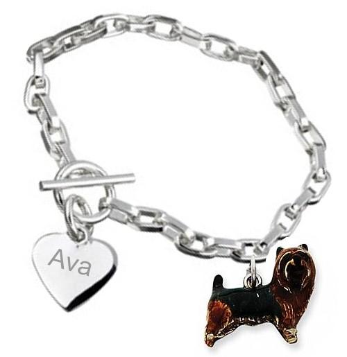 yorkie bracelet
