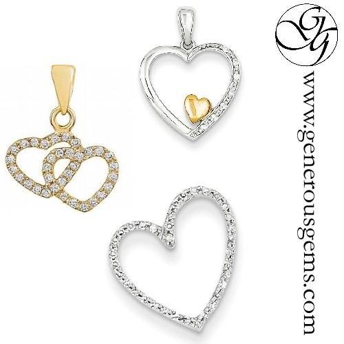Diamond Heart Jewelry