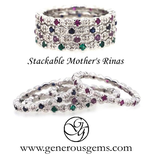 Stackable Rings for Mom
