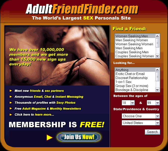 online hookup adult friend finder