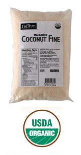 Organic Coconut - Fine Shred - Macaroon