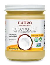 Organic Buttery Coconut Oil